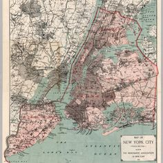 map of new york city 1897 five boroughs untapped cities samantha sokol