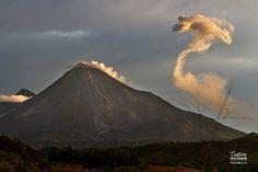 Volcan de Colima, Colima Mexico.