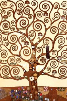 The Tree of Life, Stoclet Frieze, c.1909 (detail) Prints by Gustav Klimt at AllPosters.com