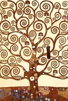 L'arbre de la vie de Gustav Klimt