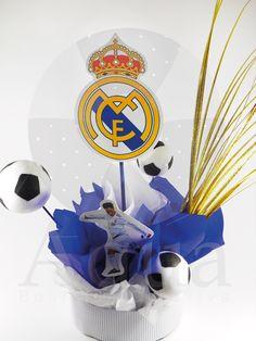 centro de mesa real Madrid