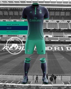 The new jersey of Real Madrid
