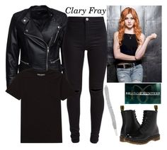 """""""Clary"""" by cynthia1997 ❤ liked on Polyvore featuring Sisters Point, Dr. Martens, New Look and Billabong"""