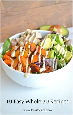 Easy Whole 30 Recipes, Paleo Recipes, Healthy weeknight meals                                                                                                                                                                                 More