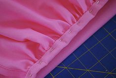 How to make a gathered Dust Ruffle for Cribs and Toddler Beds free pattern and tutorial - great adaptable tutorial for J's tutu bedskirt