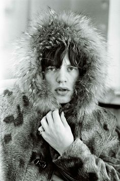 Mick Jagger, 1963. Photo: Terry O´Neill.