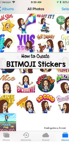 Bitmoji stickers can be the perfect motivator for students in your classroom. Check out this how-to guide for making your own bitmoji stickers for your elementary, middle, or high school students! High School Classroom, Flipped Classroom, Kindergarten Classroom, Future Classroom, Classroom Themes, Google Classroom, Classroom Projects, Classroom Environment, Art Classroom