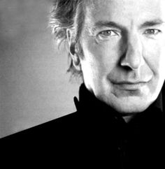"Alan Rickman- say what you will about ""Snivelous""...he's a good looking man !"