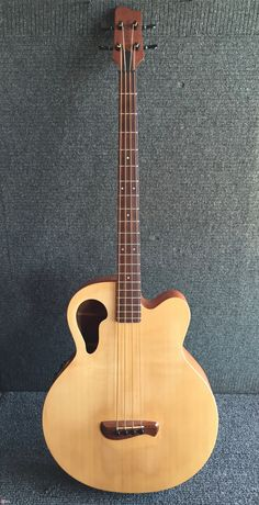 Nice condition and excellent playability, 2001 Thunderchief acoustic / electric bass, ships with original hard shell case in very good condition. Bass Guitar Case, Yamaha Bass Guitar, Acoustic Bass Guitar, Guitar Rack, Cool Guitar, Bass Guitars, Ukulele, Violin, Electric Guitar Lessons