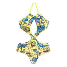 Brazilian Bikini One Piece Swimsuit Swimwear Arpa by ArpaBikineria
