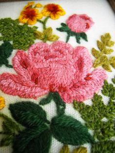 Floral Needlework $14