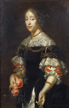 Portrait of a lady by Justus van Egmont (1601-1674)