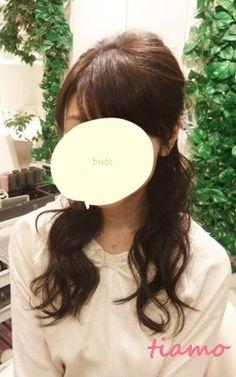 トップシニヨンの挙式からイメージチェンジ3スタイル♡リハ篇 |大人可愛いブライダルヘアメイク『tiamo』の結婚カタログ