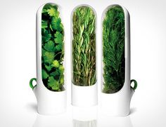 Prepara Herb Savor Mini Pods..to keep herbs fresh longer