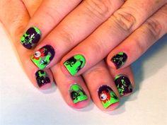 Day 298: Splat Nail Art - - NAILS Magazine