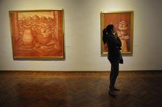 Muestra de Fernando Botero en el Museo Blanes Diagrama de curvas / Montevideo Portal - www.montevideo.com.uy