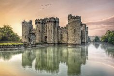 Bodium castle East Sussex, UK