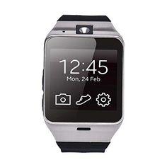 239dc641628 Lacaca Men Women Pedometer Aplus GV18 Bluetooth Smart Watch Phone GSM NFC  Camera Waterproof for iPhone