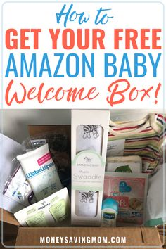 Are you searching for baby registry must haves? You can try some baby products for free with this Amazon baby welcome box! This can help you with your baby needs checklist! #babyregistry #babyproducts #babyneedschecklist