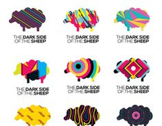 """Check out this @Behance project: """"The Dark Side Of The Sheep"""" https://www.behance.net/gallery/12237335/The-Dark-Side-Of-The-Sheep"""