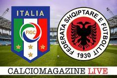 Italia-Albania LIVE venerdì 24 marzo dalle 20.45