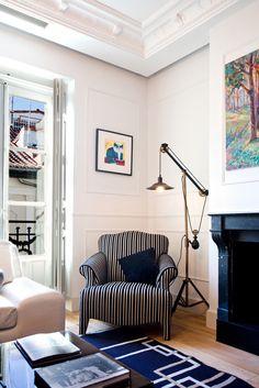 Corner in living room.