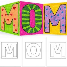 MOM Card Template
