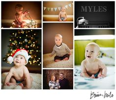 6 month baby pictures idea Christmas picture idea #christmas card ideas #6month http://www.brianmilo.com/ @Brian Milo