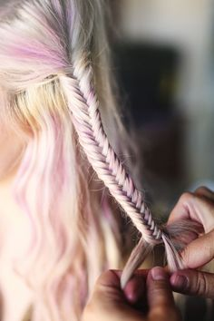 purple fishtail! designlovefest