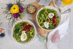 Bärlauch Nudelbowl Mozzarella, Ethnic Recipes, Food, Vegetable Medley, Recipes, Essen, Meals, Yemek, Eten