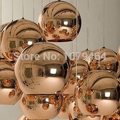33.05$  Watch now  - LED 5w  Pendant Lights Mini Globe  , 1 Light, Minimalist Metal Glass Electroplating