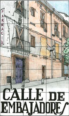 Calle de Embajadores, Madrid
