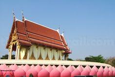 Wat Muang Golden Ubosot, Ang thong, Thailand