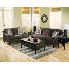 Dinelli Charcoal Living Room Set