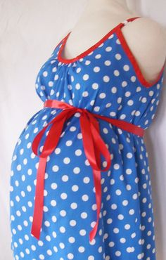 Maternity Hospital Gown, delivery nursing gown breastfeeding gown via Etsy