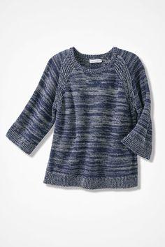 Shades of Indigo Sweater, India Ink