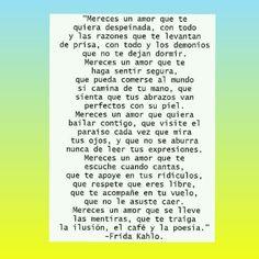 Frida Kahlo. Preciosas palabras.