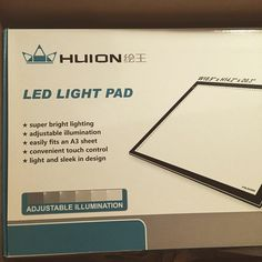 """So excited to use this"" by quinning321 on Instagram  Huion A3 Light Pad http://www.amazon.com/Huion-Tatoo-Tracing-Light-Table/dp/B00DNPCZVG/ref=aag_m_pw_dp?ie=UTF8&m=A30BRCK3LE6SB5 #huion #art #lightpad #lightboard #led #artist #love #newtoysarefun #artutensils"