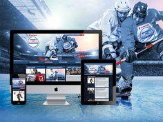 Hockey for Alzheimer's - Web Design & Development / Responsive Web Design Responsive Web Design, Design Development, Hockey, Field Hockey, Ice Hockey