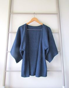 This simple kimono top is soft, cozy, and casual. Make one for yourself with this sewing tutorial.