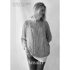Erika Knight Amalfi Jumper Digital Pattern | Hobbycraft