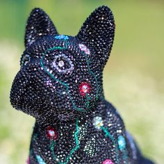 French Bruno by J. Edelweiss, French, Bulldog Breeds, Crystals, Art, French People, French Language, France