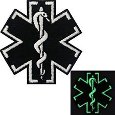 Original 3d Medic Red Cross Patch Reflective Emt Ir Patches Military Tactical Morale Patch Rubber Biker Fastener Pvc Glow In Dark Badges Rock & Pop
