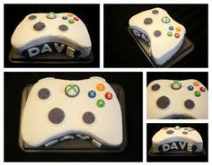 Xbox birthday cake? For Farbod maybe?? Hmmm...