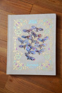 """Gorgeous letterpress glowing cover design (from """"Living in a Fairytale World"""" by Book Cover Design, Book Design, Good Books, Books To Read, Mister Finch, Diy Recycling, Beautiful Book Covers, Book Aesthetic, Classic Books"""