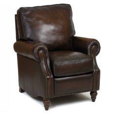 Bernhardt Murphy Recliner Living In Leather Recliner