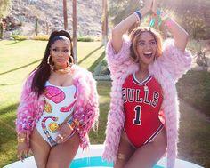 Pinterest: idkgavy Beyonce Nicki Minaj, Nicki Minaj Fotos, Beyonce And Jay, Beyonce Knowles, Nicki Minaj Outfits, Divas, Destiny's Child, Big Sean, Photo Post Bad