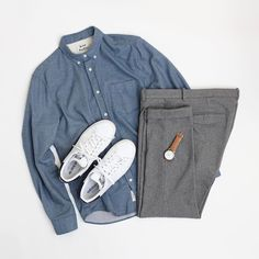 Here's an amazing minimal outfit for you guys. It's simple, subtle and sure to make you look dapper. To make this outfit stand out we'd recommend you to wear your pants at a…