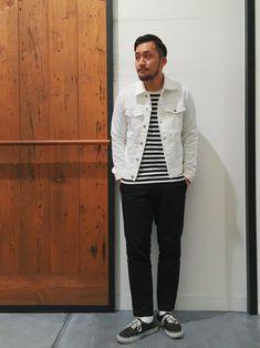アーバンリサーチ DOORS あべのand店|takeshimaさんのデニムジャケット「DOORS ジャガードクロスGジャン(URBAN RESEARCH DOORS MENS|アーバンリサーチ ドアーズ メンズ)」を使ったコーディネート