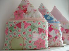 Little House Personalised Pillow - FLUTTERBY-Got this as a tooth fairy pillow for my little girl:)